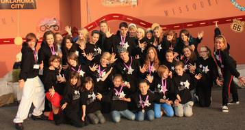 our dancers in disney land Paris.