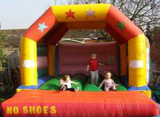 Jumping Beans Bouncy Castle Hire in Essex, Basildon