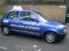 Empire School of Motoring, Enfield