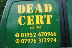 The Original Dead-Cert Pest Control, Telford