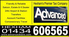 Advanced Taxis, Hexham