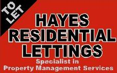 Hayes Residential Lettings, Doncaster