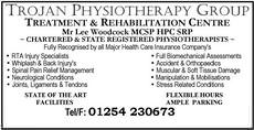 Trojan Physiotherapy Group, Accrington