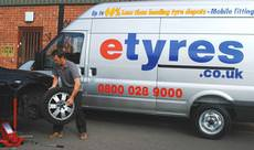 etyres, Tamworth