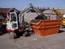 Digaway skip and digger hire, Hengoed