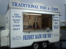 Pauls mobile traditional fish and chip, Killingworth