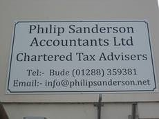 Philip Sanderson Accountants Ltd, Bude