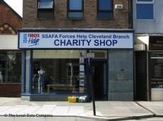 SSAFA Charity Shop, Redcar