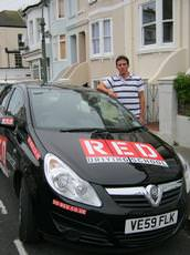Tom Rymer driving lessons, Hove