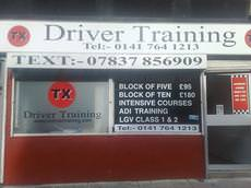 TX Driver Training, Glasgow