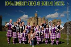 Donna Kimberley School of Highland Dan, Newcastle