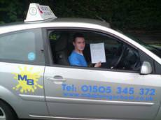 M8 Driving School, Johnstone